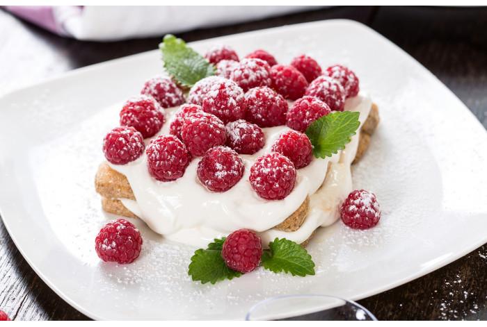 Диптих Малиновый десерт
