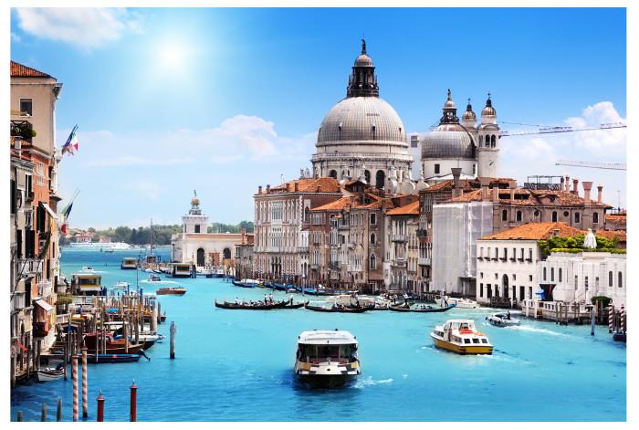 Модульная Картина Венеция в интерьере