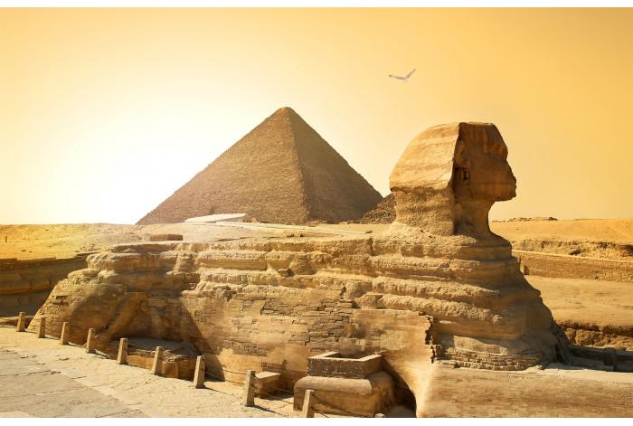 Модульная картина Пирамид Сфинкс