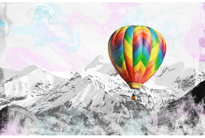 Модульная картина Воздушный шар