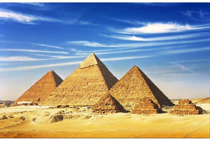 Модульная картина Великие Пирамиды Хеопса