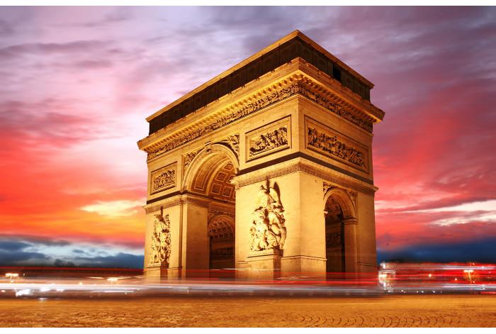 Модульная картина Триумфальная арка Париж