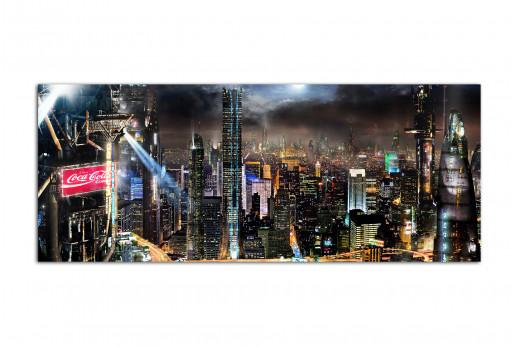 Фотокартина город будущего