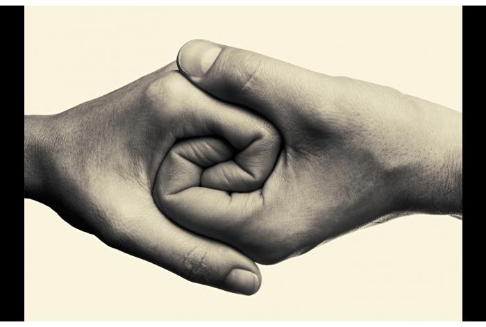 Модульная картина Руки