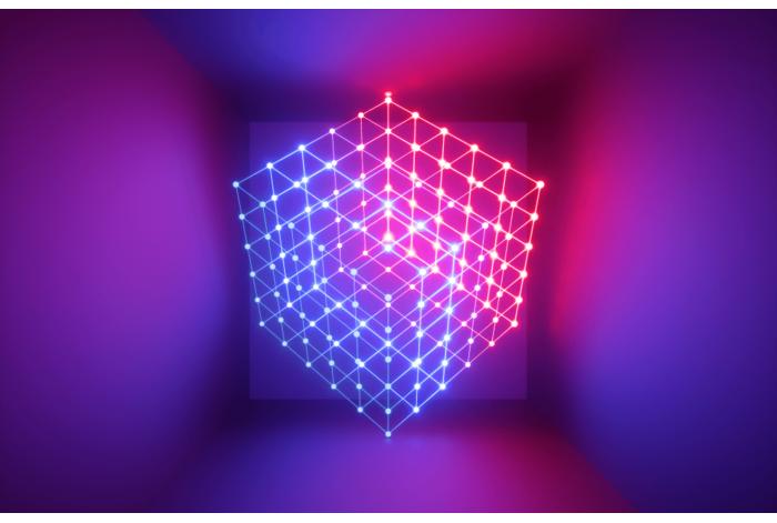 Модульная картина Куб