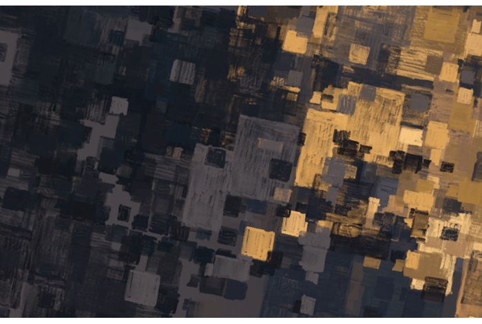 Модульная картина Мазки