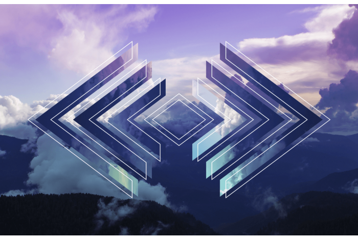 Модульная картина Небо