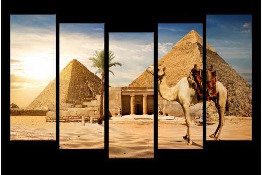 Модульная картина Царство Фараонов