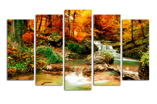 Полиптих Река в лесу
