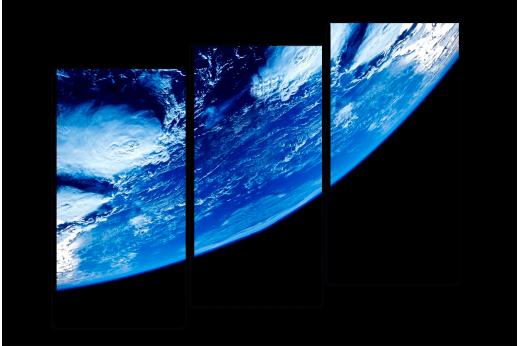 Модульная картина Наша планета Земля