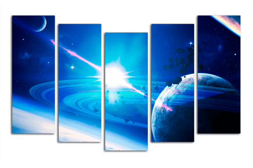 Модульная картина Свет звезды