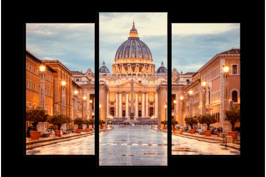 Модульная картина Архитектура собора