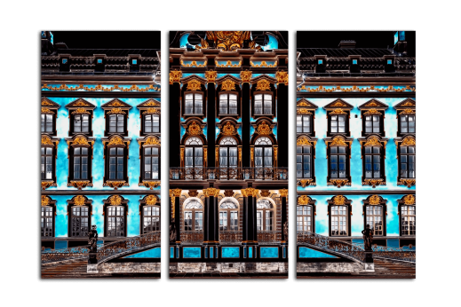 Модульная картина Дворцовый фасад