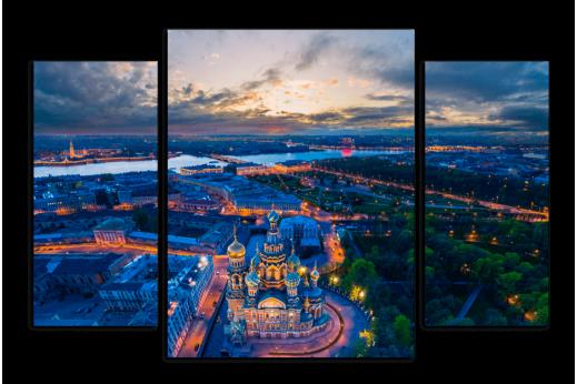 Модульная картина Красота Санкт-Петербурга