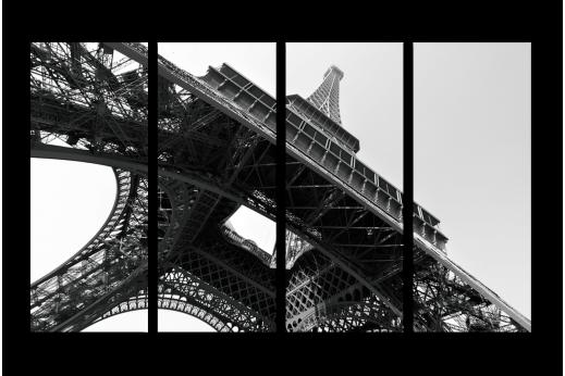 Модульная картина Архитектурная достопримечательность