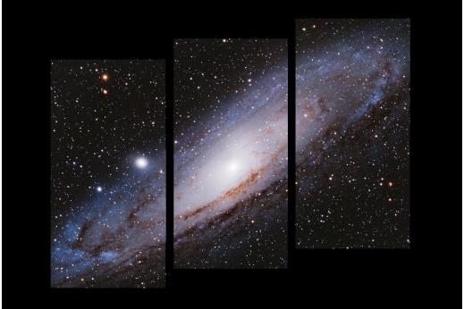 Модульная картина Андромеда