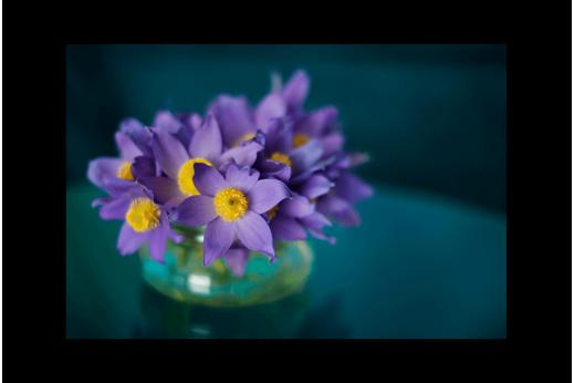 Картина Подснежники в вазе