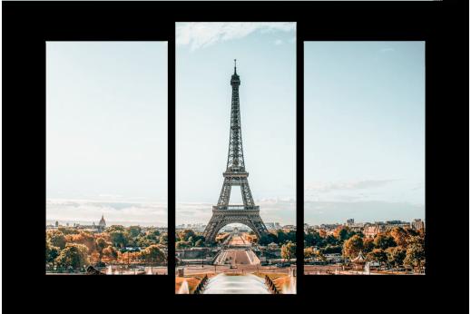 Модульная картина Красота Парижа