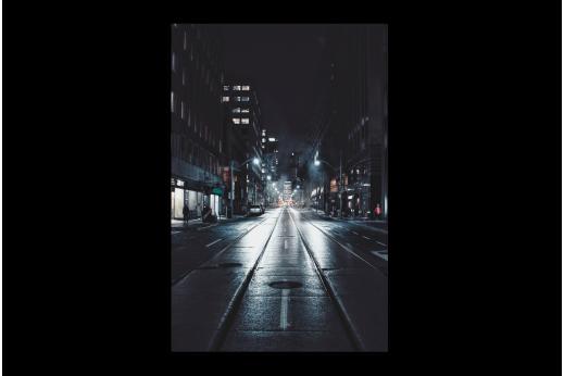 Картина Ночная улочка