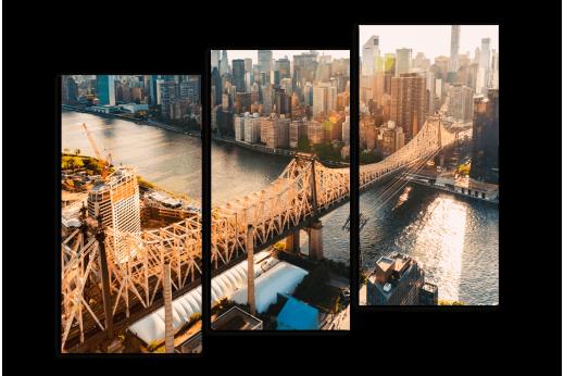 Модульная картина Квинс в Нью-Йорке